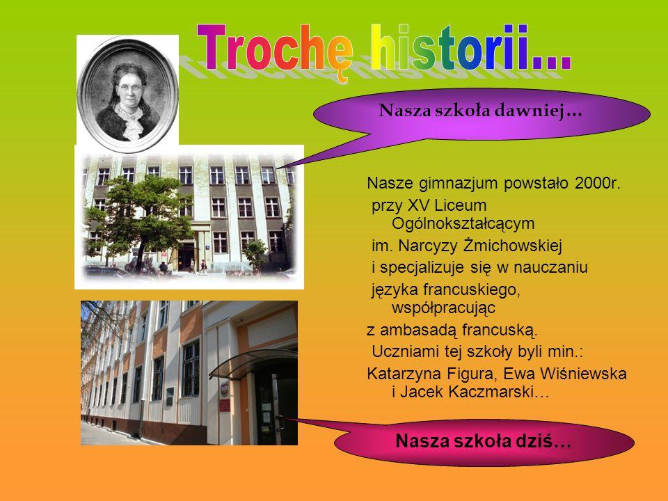 Trochę historii... Nasza szkoła dawniej… Nasza szkoła dziś…