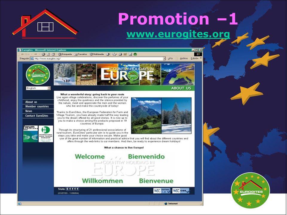 Promotion –1 www.eurogites.org