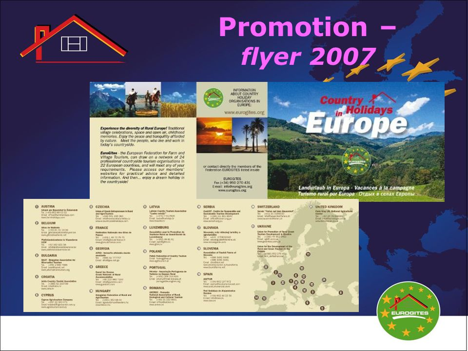Promotion – flyer 2007