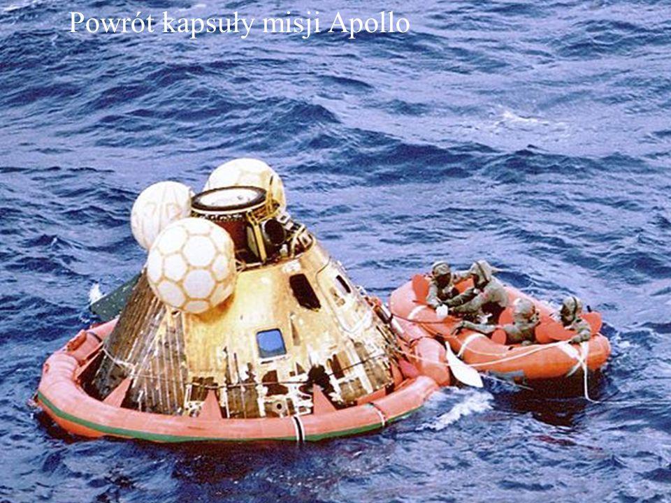 Powrót kapsuły misji Apollo