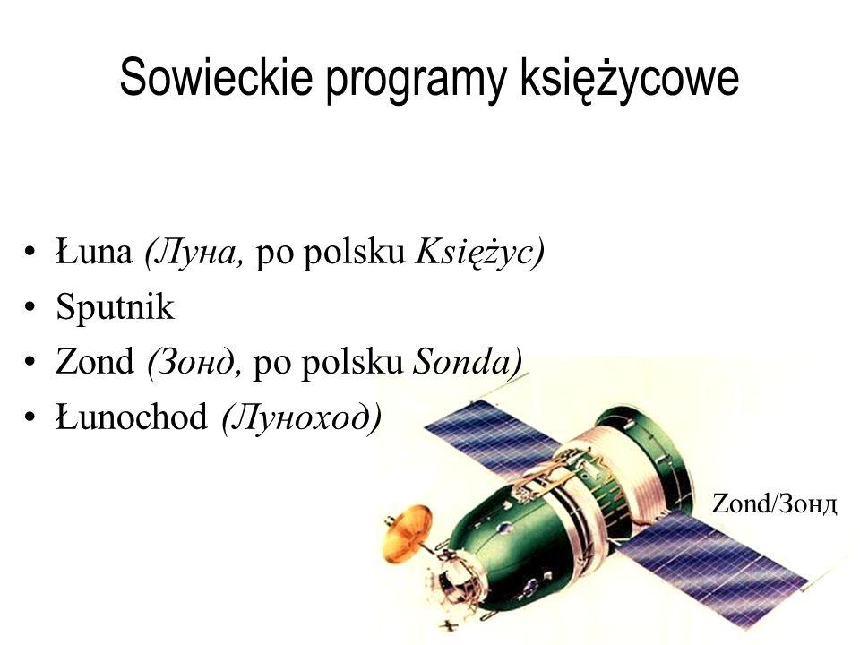 Sowieckie programy księżycowe