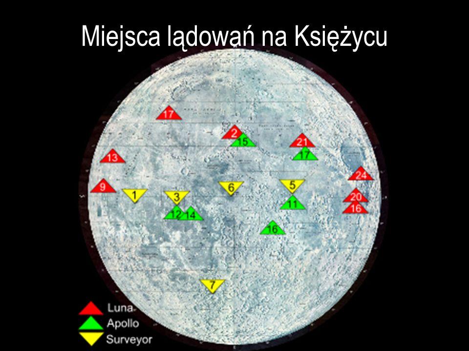 Miejsca lądowań na Księżycu