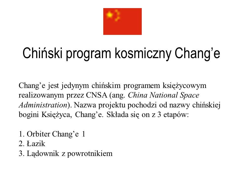 Chiński program kosmiczny Chang'e