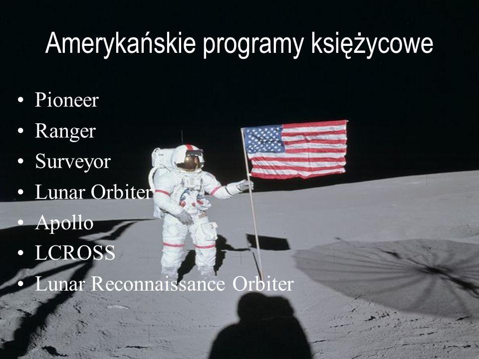 Amerykańskie programy księżycowe