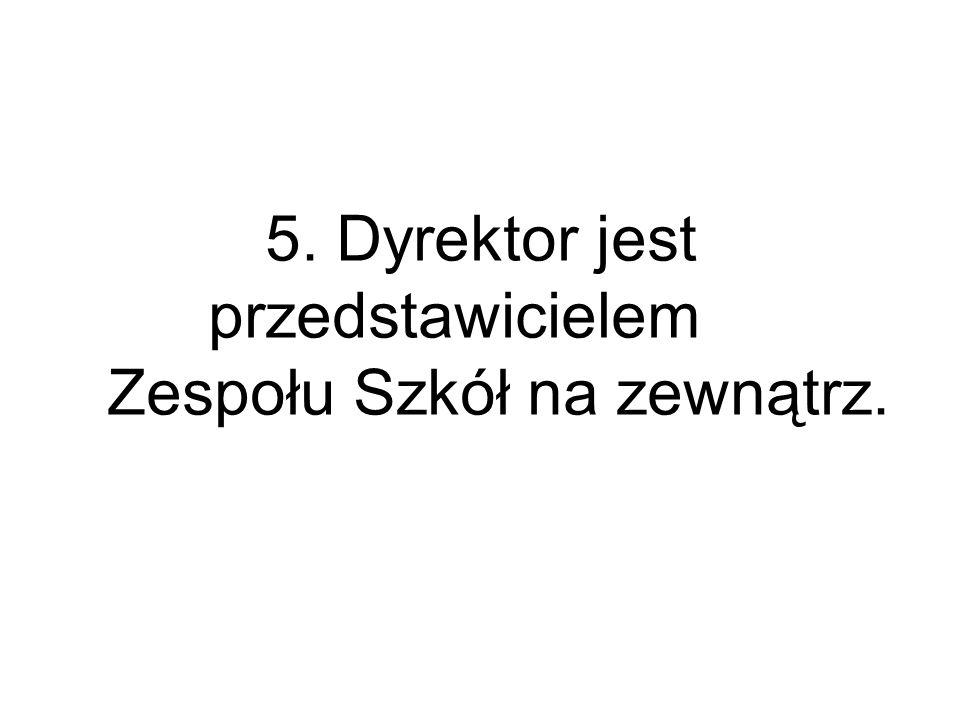 Zespołu Szkół na zewnątrz.