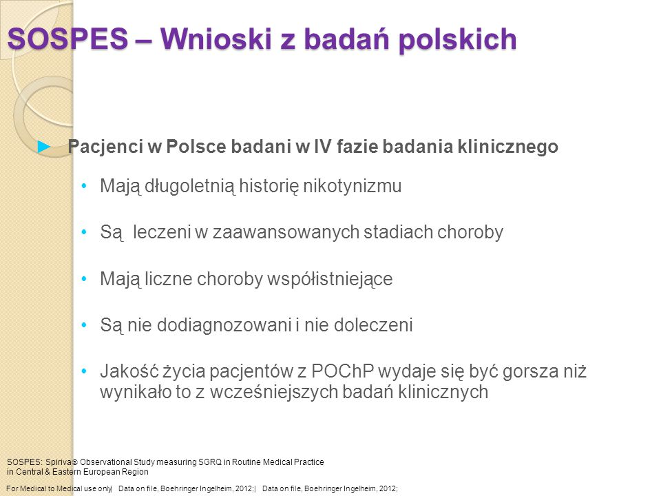 SOSPES – Wnioski z badań polskich