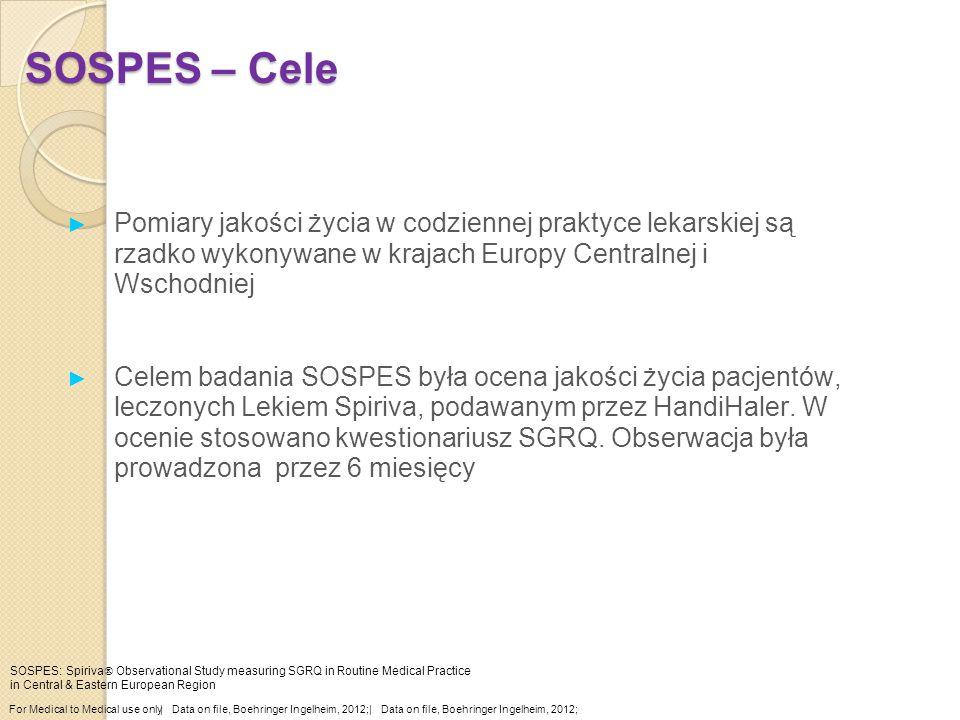 SOSPES – Cele Pomiary jakości życia w codziennej praktyce lekarskiej są rzadko wykonywane w krajach Europy Centralnej i Wschodniej.