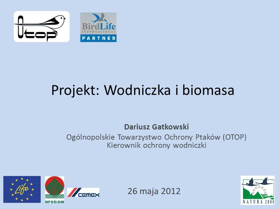 Projekt: Wodniczka i biomasa
