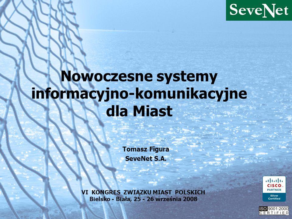 Nowoczesne systemy informacyjno-komunikacyjne dla Miast