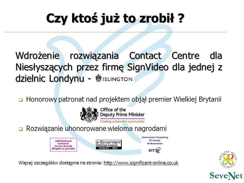 Czy ktoś już to zrobił Wdrożenie rozwiązania Contact Centre dla Niesłyszących przez firmę SignVideo dla jednej z dzielnic Londynu -