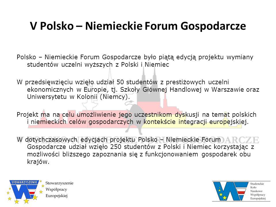 V Polsko – Niemieckie Forum Gospodarcze