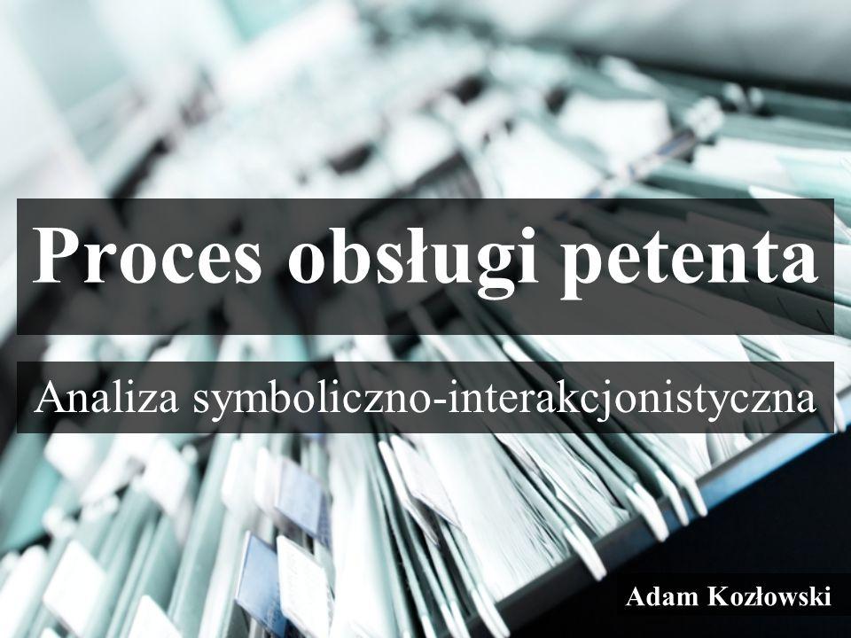 Proces obsługi petenta