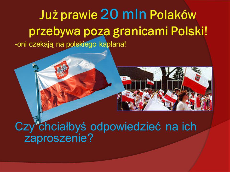 Już prawie 20 mln Polaków przebywa poza granicami Polski!