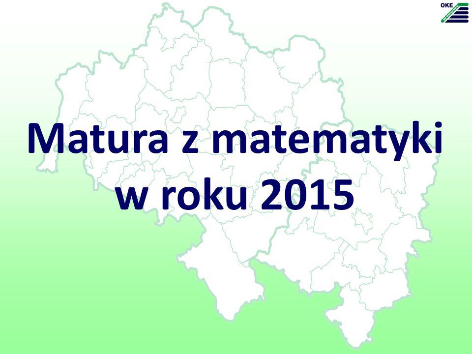 Matura z matematyki w roku 2015