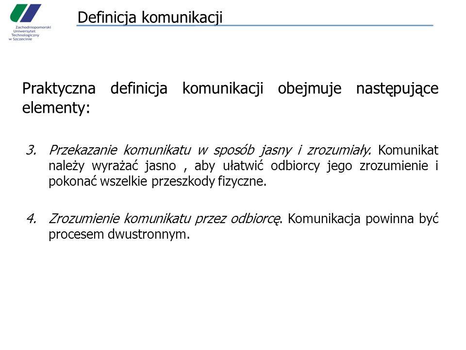 Definicja komunikacji