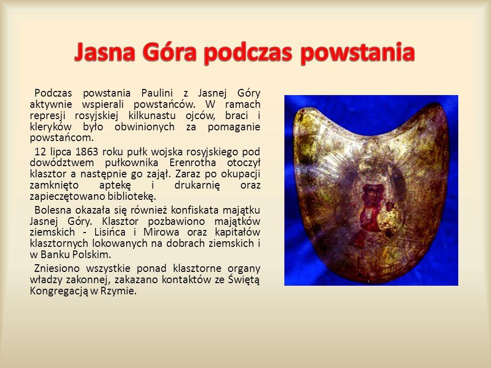 Jasna Góra podczas powstania