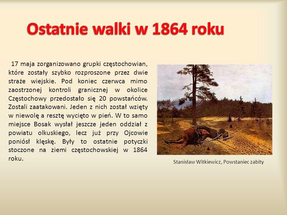 Ostatnie walki w 1864 roku