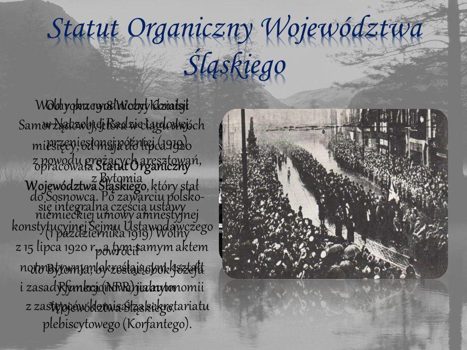 Statut Organiczny Województwa Śląskiego