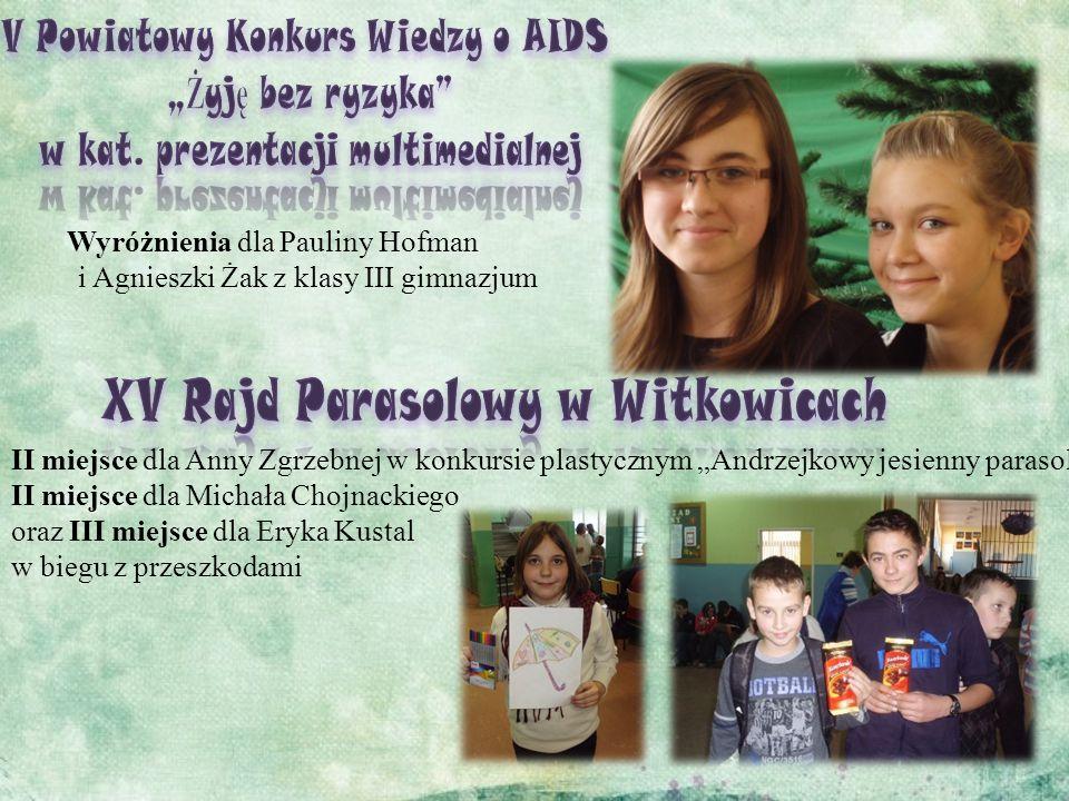"""V Powiatowy Konkurs Wiedzy o AIDS """"Żyję bez ryzyka"""