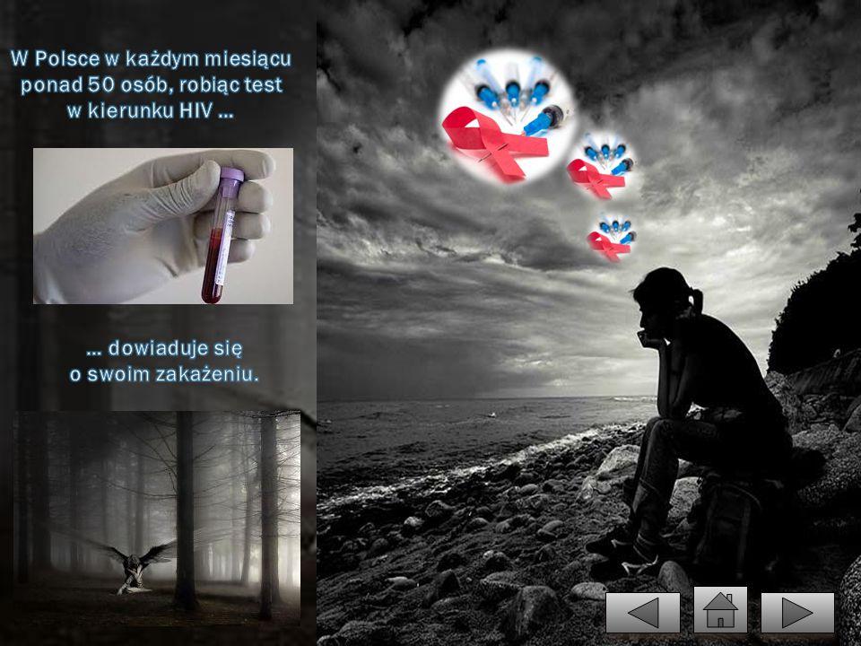 W Polsce w każdym miesiącu ponad 50 osób, robiąc test w kierunku HIV …