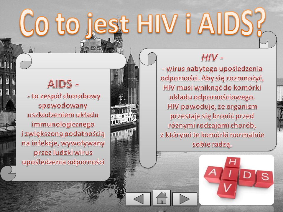Co to jest HIV i AIDS HIV -