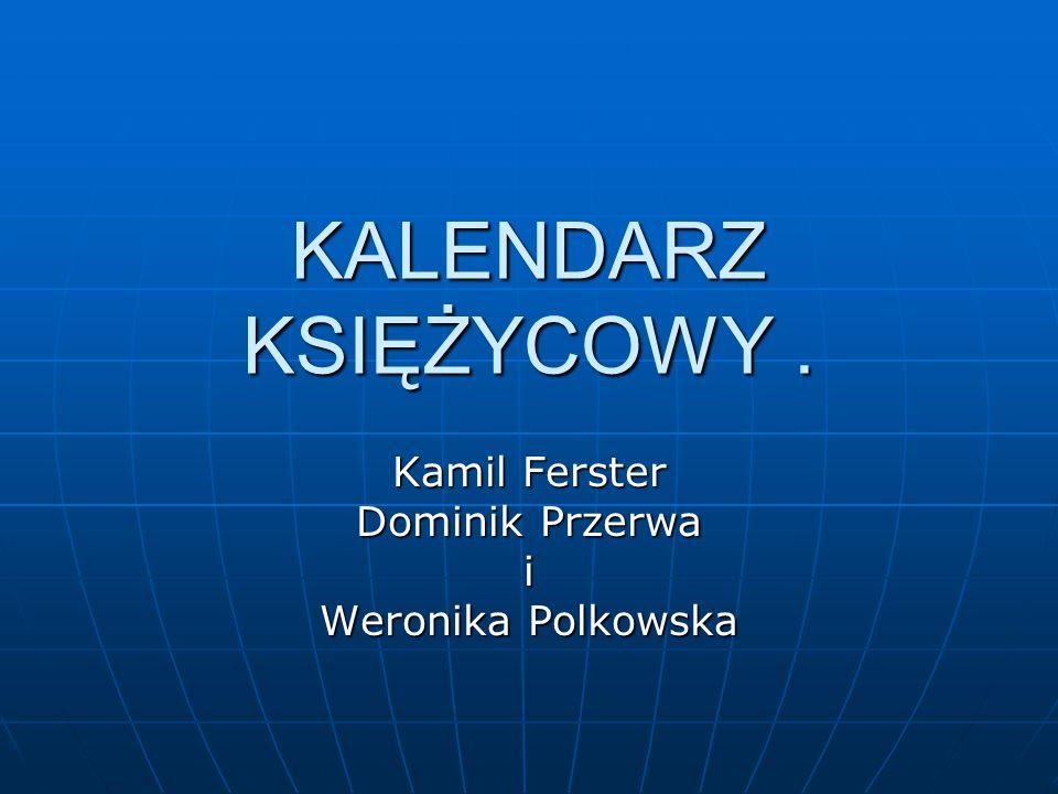 Kamil Ferster Dominik Przerwa i Weronika Polkowska
