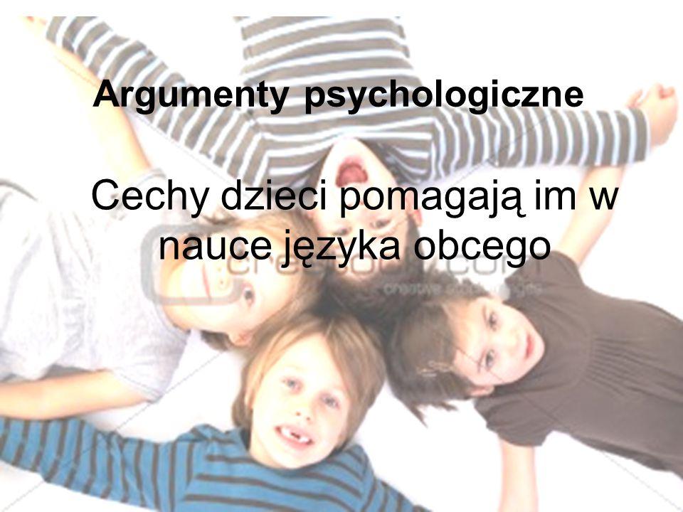 Argumenty psychologiczne