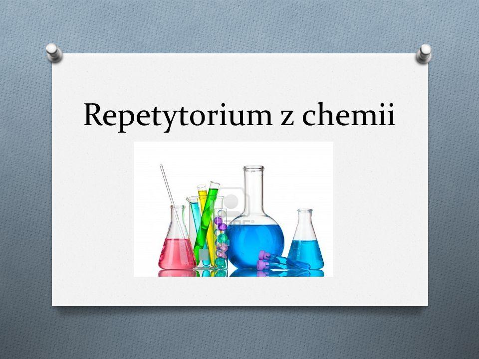 Repetytorium z chemii