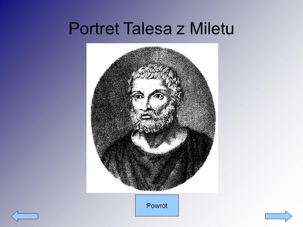 Portret Talesa z Miletu