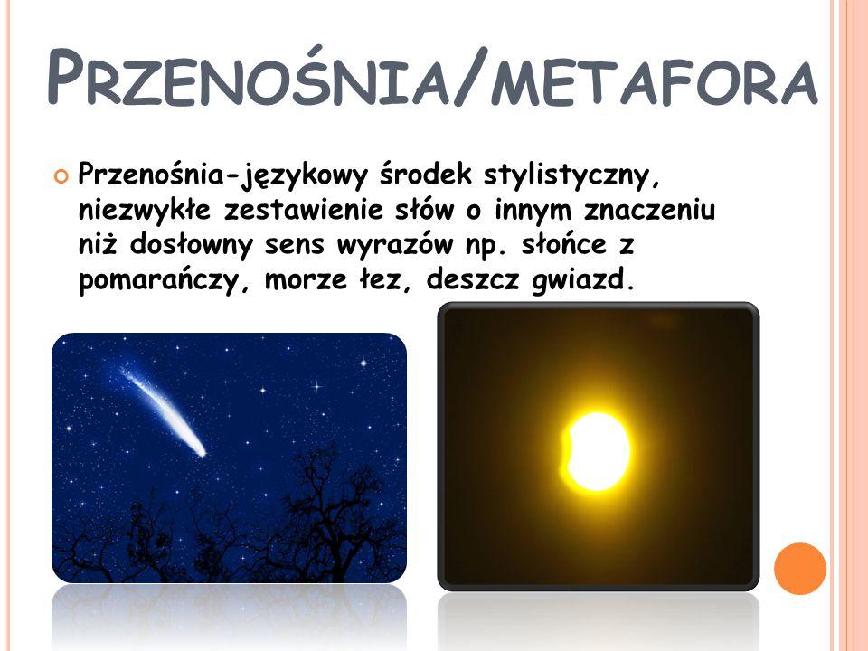 Przenośnia/metafora