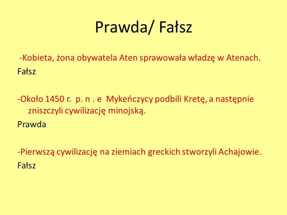Prawda/ Fałsz