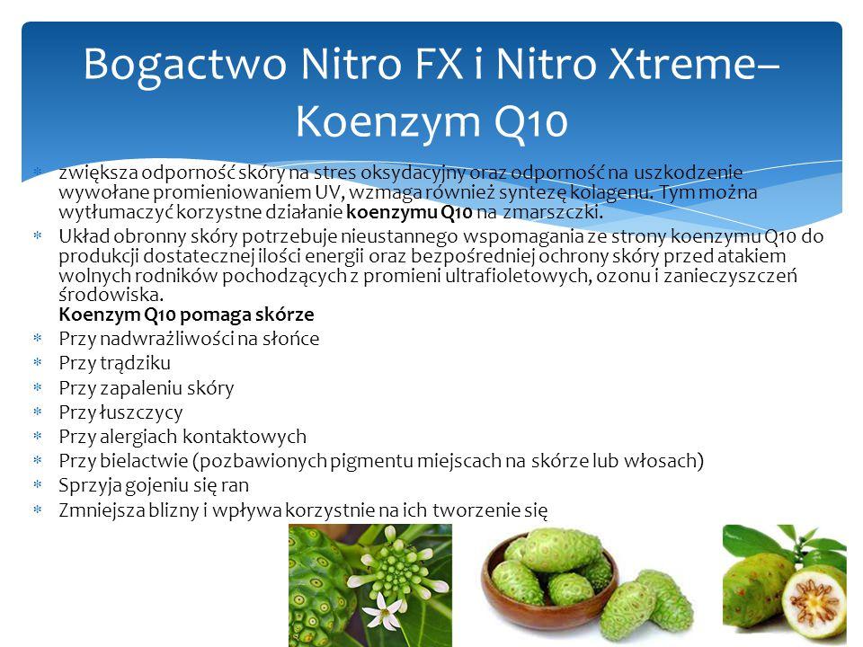 Bogactwo Nitro FX i Nitro Xtreme– Koenzym Q10