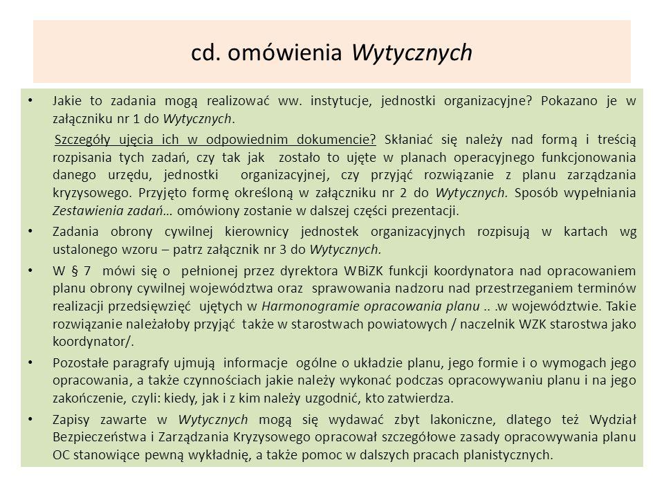 cd. omówienia Wytycznych