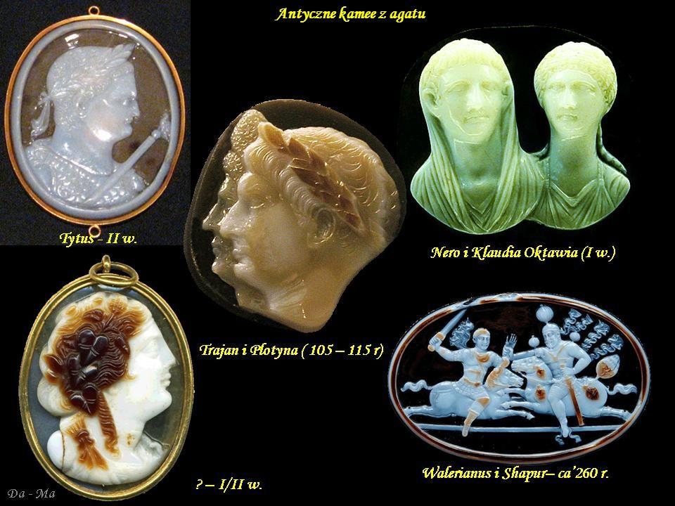 Antyczne kamee z agatu