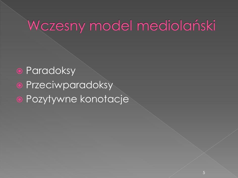 Wczesny model mediolański