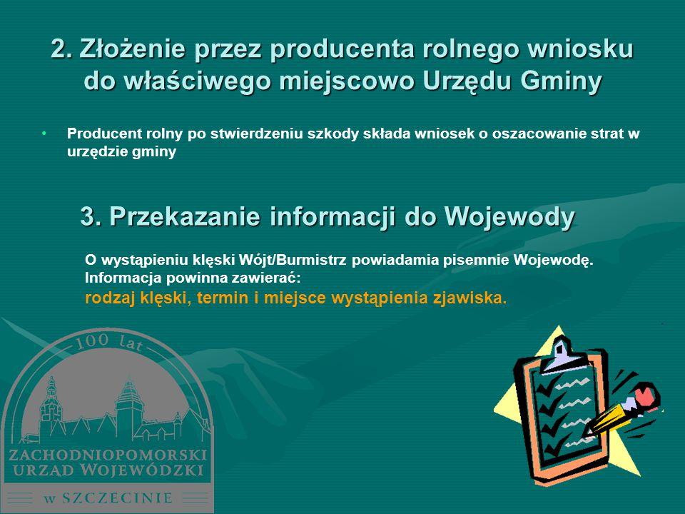 3. Przekazanie informacji do Wojewody
