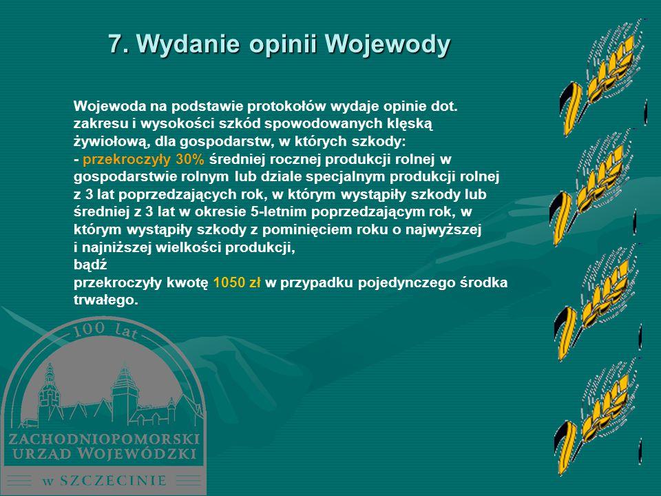 7. Wydanie opinii Wojewody
