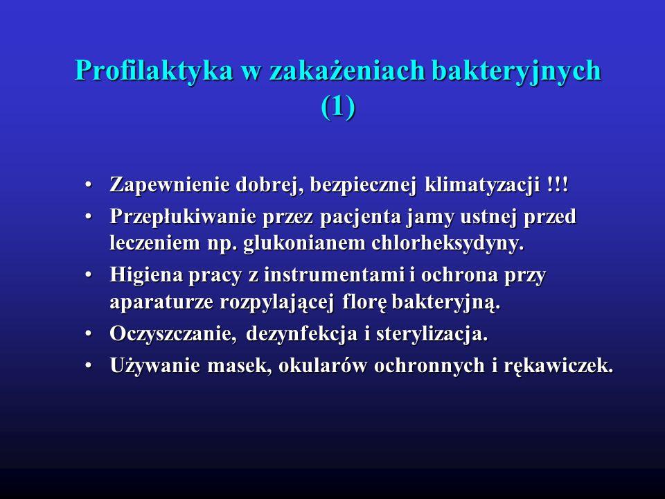 Profilaktyka w zakażeniach bakteryjnych (1)