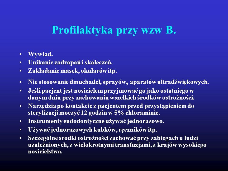 Profilaktyka przy wzw B.
