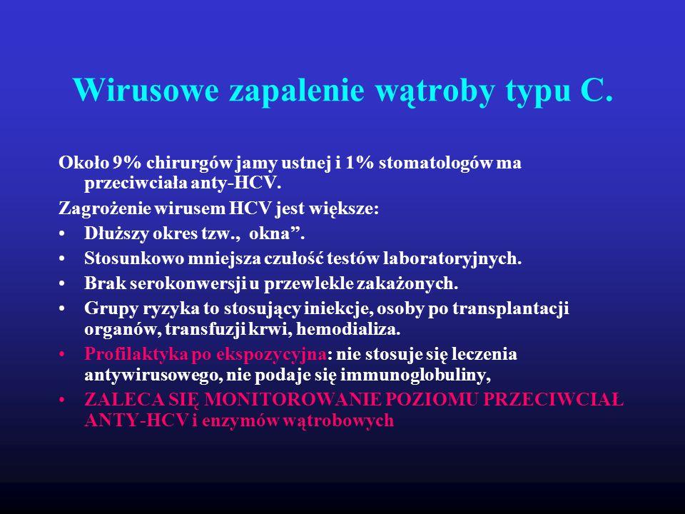 Wirusowe zapalenie wątroby typu C.