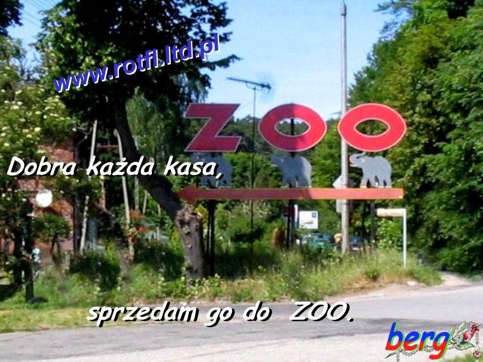 www.rotfl.ltd.pl Dobra każda kasa, sprzedam go do ZOO.