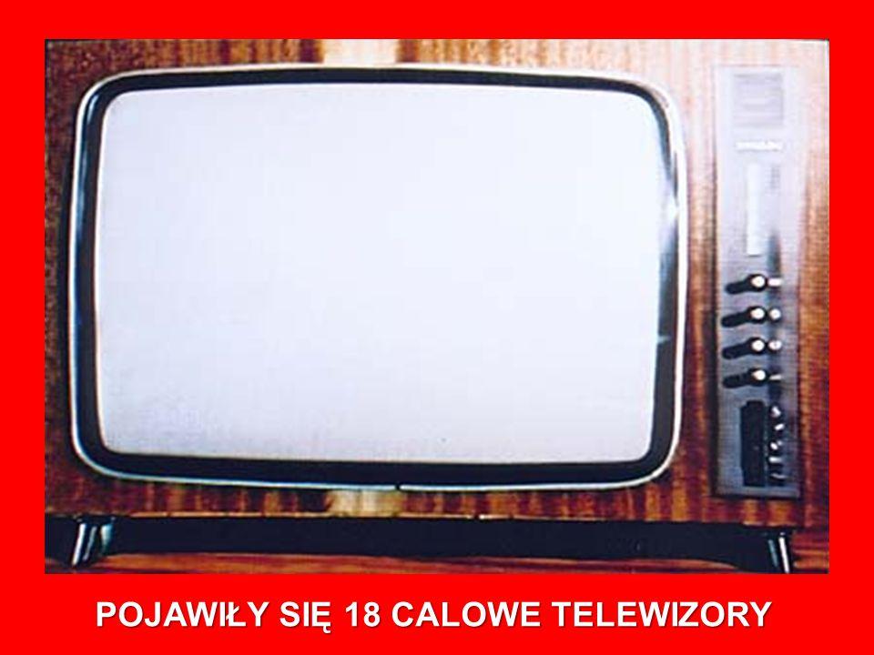 POJAWIŁY SIĘ 18 CALOWE TELEWIZORY