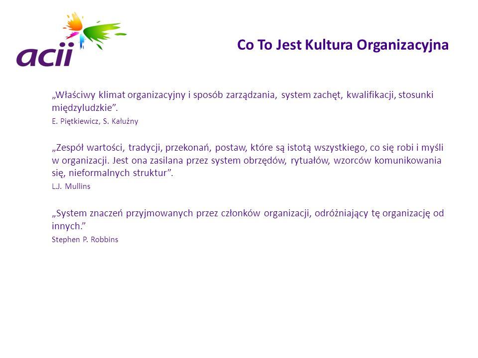 Co To Jest Kultura Organizacyjna