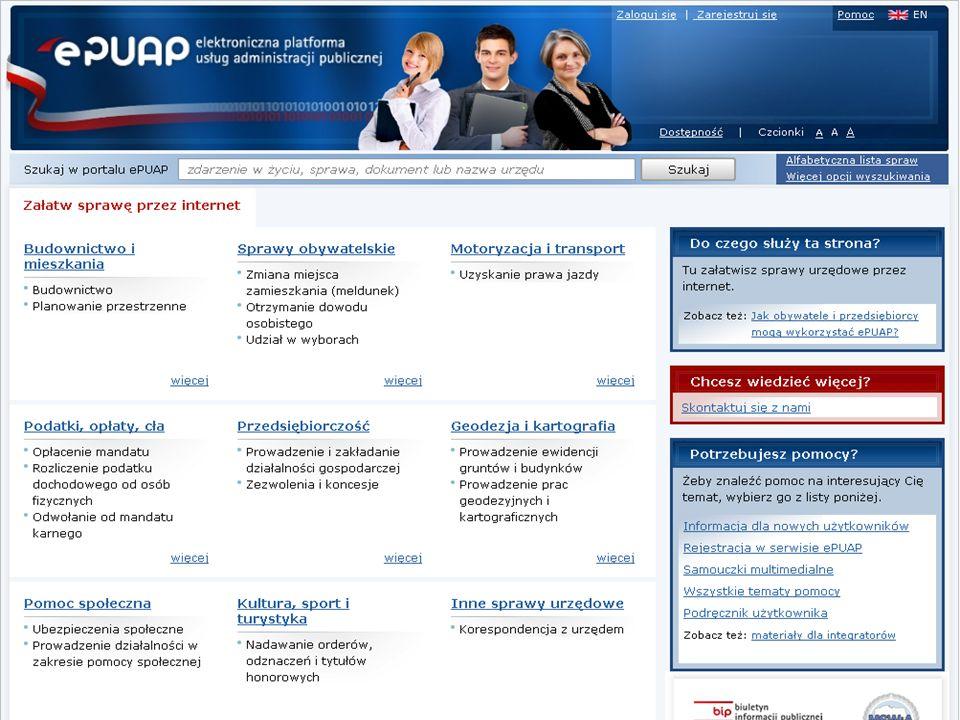 Strona główna ePUAP