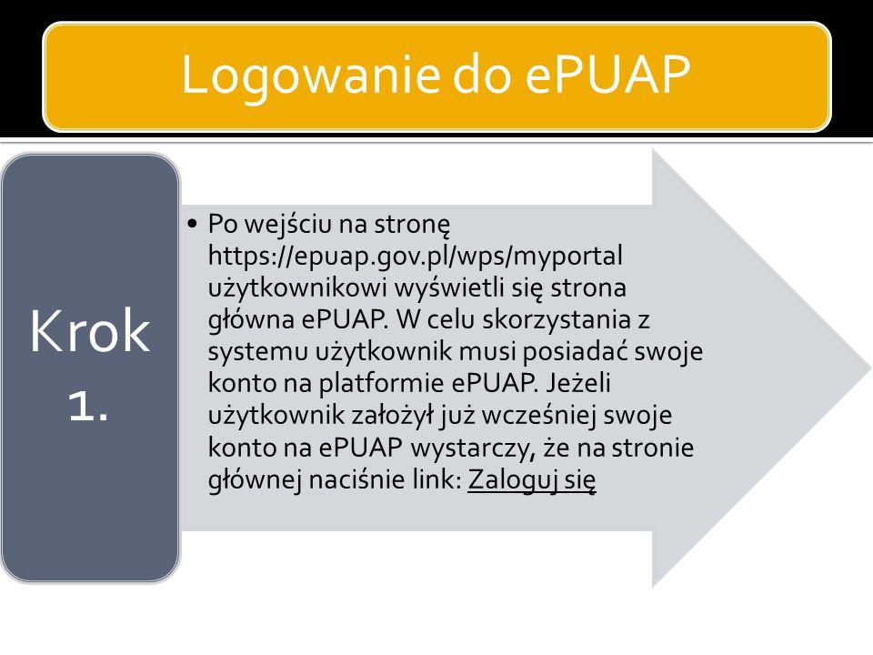 Krok 1. Logowanie do ePUAP
