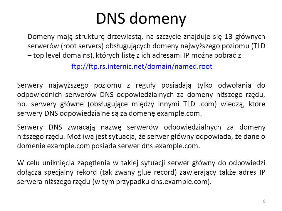 DNS domeny
