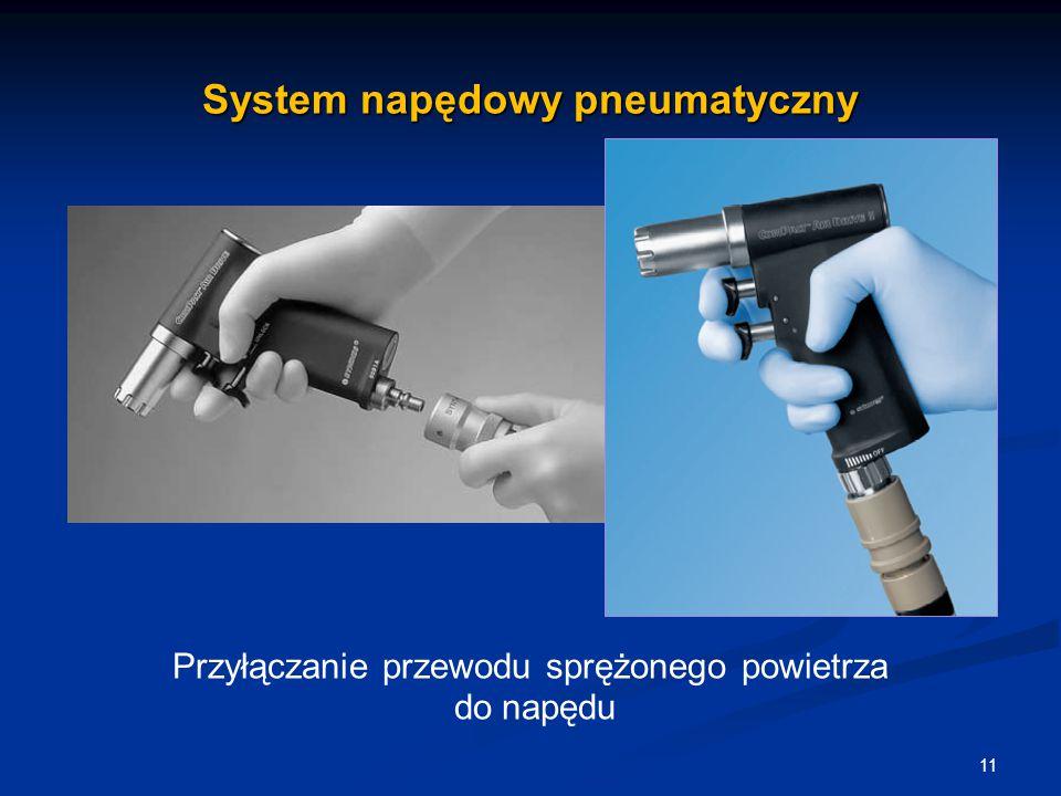 System napędowy pneumatyczny