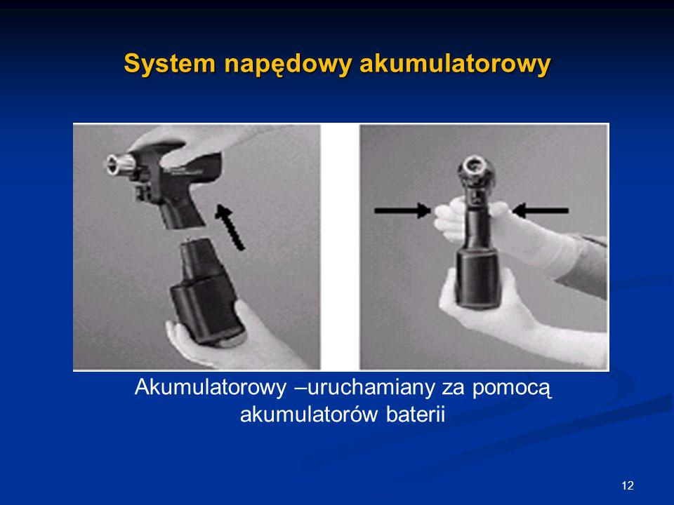 System napędowy akumulatorowy
