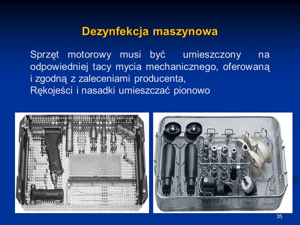 Dezynfekcja maszynowa