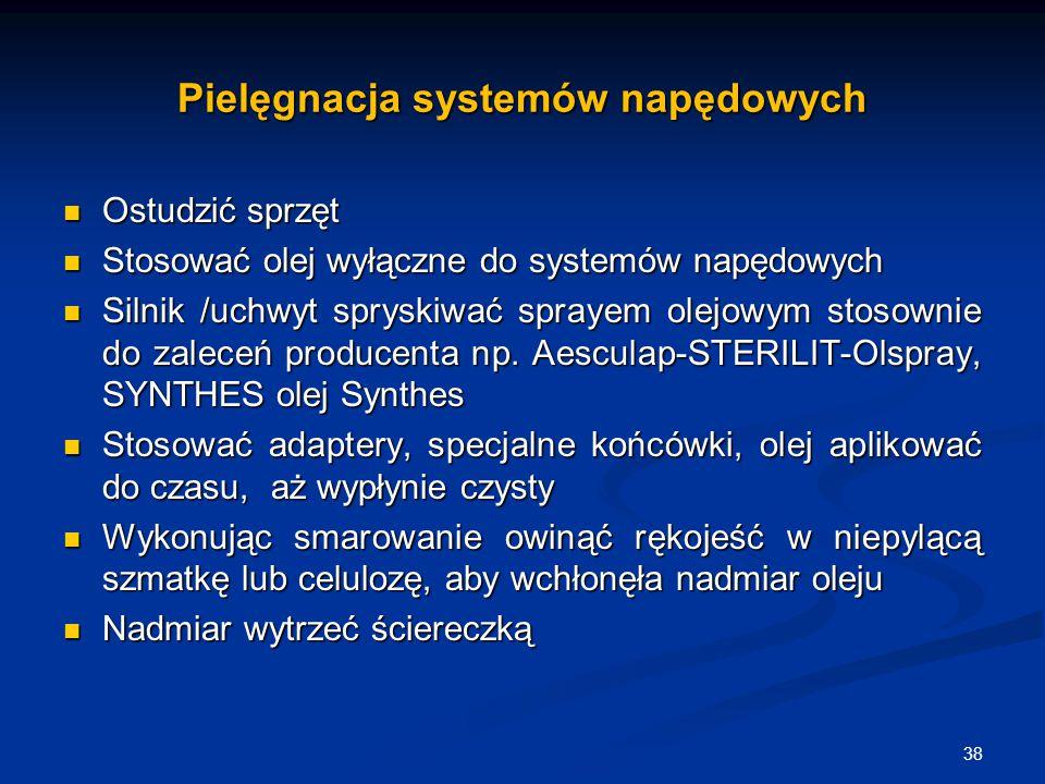 Pielęgnacja systemów napędowych